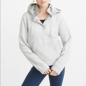 Abercrombie & Fitch - Hooded Fleece Popover